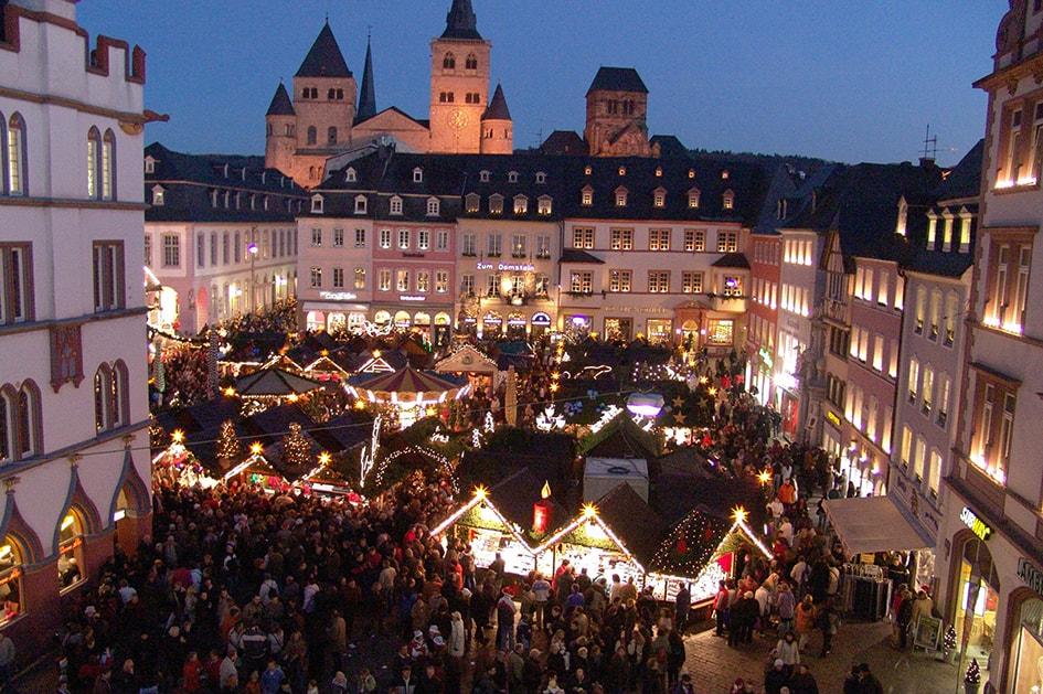 Foto vom Weihnachtsmarkt