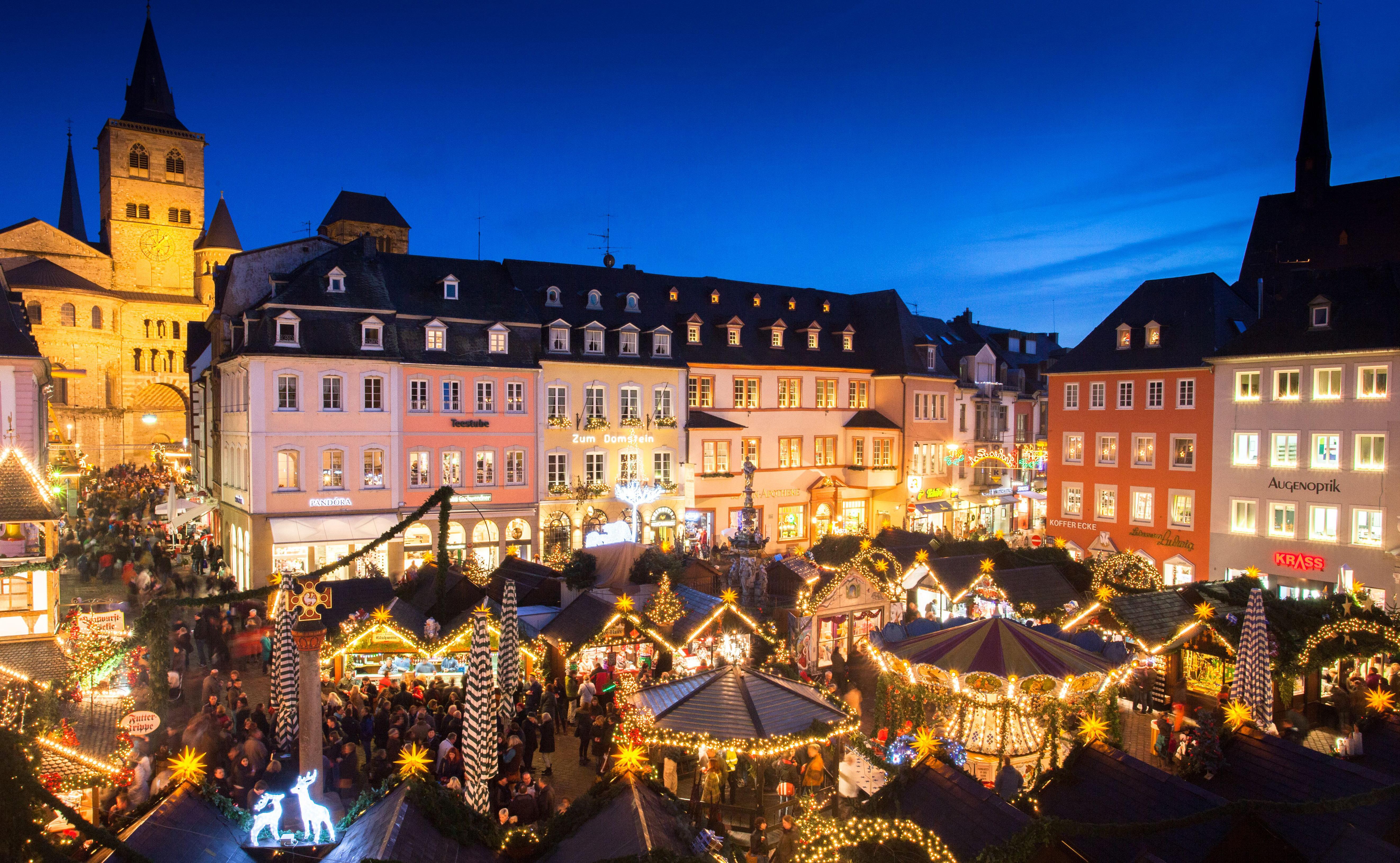 Weihnachtsmarkt In Trier.Trierer Weihnachtsmarkt Presse